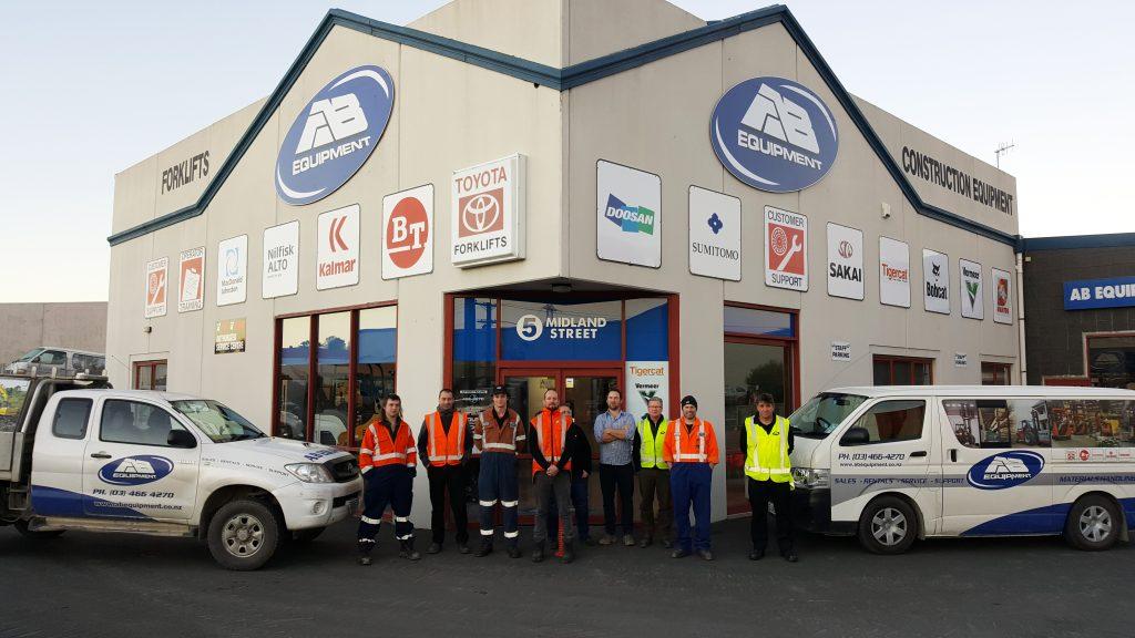 AB Equipment Dunedin Branch