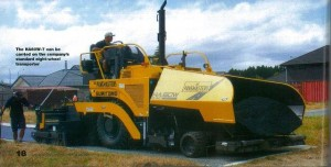 First Delivery - Sumitomo Paver - 2